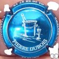 Champagne capsule 18 Bleu métallisé