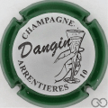Champagne capsule 7.e Contour vert