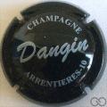 Champagne capsule 9.c Noir et blanc
