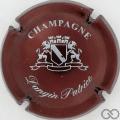Champagne capsule 4 Bordeaux et blanc