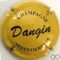 Champagne capsule 9 Jaune et noir