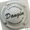 Champagne capsule 9.a Blanc et noir