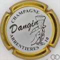 Champagne capsule 7.c Contour or