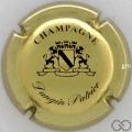 Champagne capsule 3 Or et noir