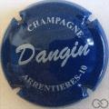 Champagne capsule 9.d Bleu et blanc