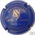 Champagne capsule 3 Bleu