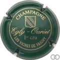 Champagne capsule 7 Vert, Les Vignes de Vrigny