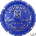 Champagne capsule 10 Bleu
