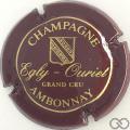 Champagne capsule 11 Bordeaux et or brillant