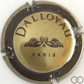 Champagne capsule 1 Bronze et marron foncé