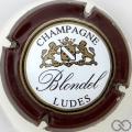 Champagne capsule 22 Contour marron