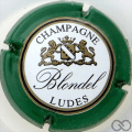 Champagne capsule 20 Contour vert