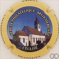 Champagne capsule 42.c L'Eglise de Sierentz