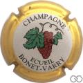 Champagne capsule  Contour or, sans cercle