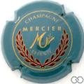 Champagne capsule  Gris, or et rouge foncé