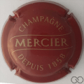 Champagne capsule 34 Jéroboam, bordeaux