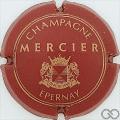 Champagne capsule 20 Quart, bordeaux