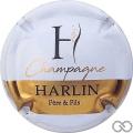 Champagne capsule 7.b Blanc, barre or