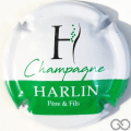 Champagne capsule 7.a Blanc, barre verte