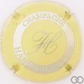 Champagne capsule 6.b Crème et métal