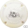 Champagne capsule 5.a Blanc et métal