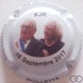 Champagne capsule A2 KJR, polychrome