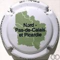 Champagne capsule 8.m Nord, Pas-de-Calais et Picardie