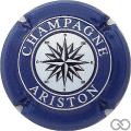 Champagne capsule 21 Bleu et blanc