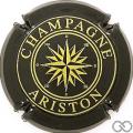 Champagne capsule 21.a Noir et or brillant