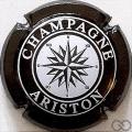 Champagne capsule 21.c Noir et blanc