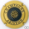 Champagne capsule 20.e Jaune et bleu foncé