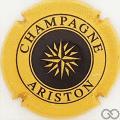 Champagne capsule 20 Jaune-orangé et noir