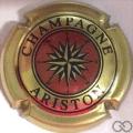 Champagne capsule 20.c Or, noir et bordeaux