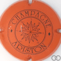 Champagne capsule 18.b Orange et noir