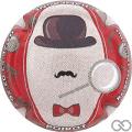Champagne capsule 10.d Contour rouge