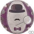 Champagne capsule 10.b Contour violet