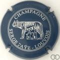 Champagne capsule 6.f Bleu foncé et argent