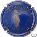 Champagne capsule 7 Bleu et or