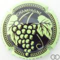 Champagne capsule 3 Personnalisée sur n° 977