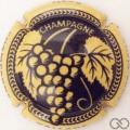 Champagne capsule 3.b Personnalisée sur n° 977.b