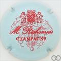 Champagne capsule 5.b Bleu ciel et rouge
