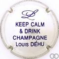 Champagne capsule 13.e Jéroboam métal et violet