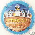 Champagne capsule A50 Après ski party