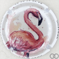 Champagne capsule A52 Flamant rose