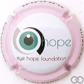 Champagne capsule 74.a Eye hope foundation,  contour rose