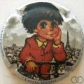 Champagne capsule 187.d Les Poulbots