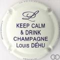 Champagne capsule 13.d Jéroboam blanc et violet