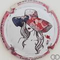 Champagne capsule 188 Femme au chapeau