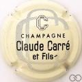 Champagne capsule 7 Crème, gris et noir