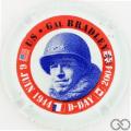 Champagne capsule 2.d Général Bradley, U.S.